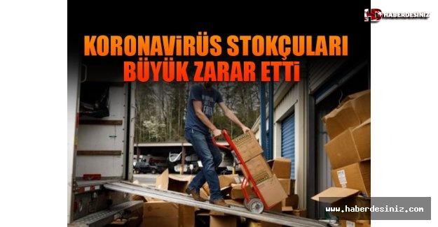 Koronavirüs Stokçuları Büyük Zarar Etti