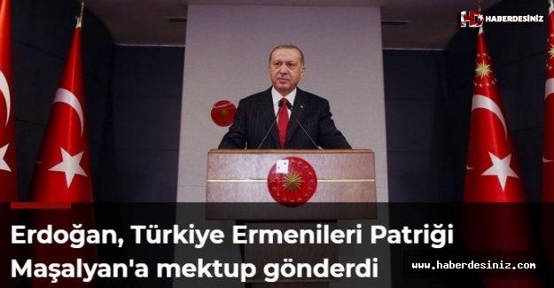 Erdoğan, Türkiye Ermenileri Patriği Maşalyan'a mektup gönderdi