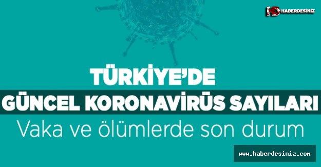 Türkiye'de koronavirüsten ölenlerin sayısı 98 artarak 1296'ya yükseldi