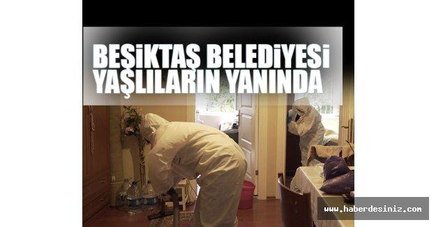 Beşiktaş Belediyesi 'Esenlik Hizmeti'yle Yaşlı Komşularının Yanında