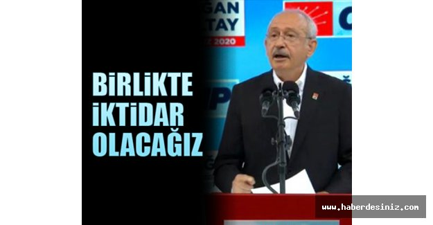 CHP Kurultayı'nda konuşan Kılıçdaroğlu