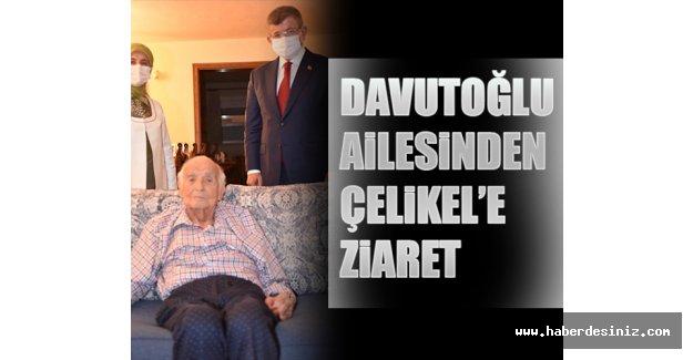 Davutoğlu Ailesinden Çelikel'e Ziyaret