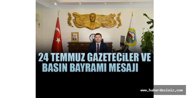 """Engin Sarıibrahim'in """"24 Temmuz Gazeteciler Ve Basın Bayramı"""" Mesajı"""