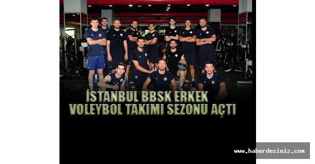 İstanbul BBSK Erkek Voleybol Takımı Sezonu Açtı