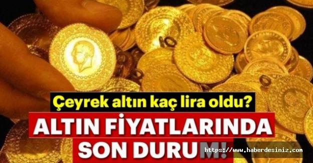 18 Ağustos Salı altın kaç lira? Altının gram fiyatları | Cumhuriyet, yarım ve çeyrek altın kaç lira oldu