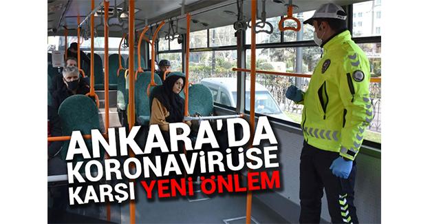Ankara'da yeni koronavirüs tedbirleri!