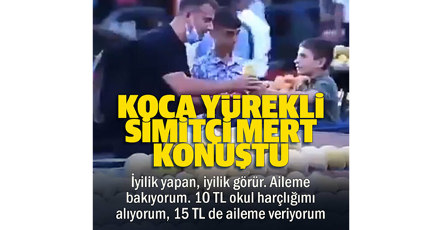 Diyarbakır'da sosyal medya fenomeni simitçi !!