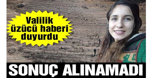 Tunceli Valiliği'nden Gülistan Doku açıklaması: Maalesef bir sonuç alınamamıştır