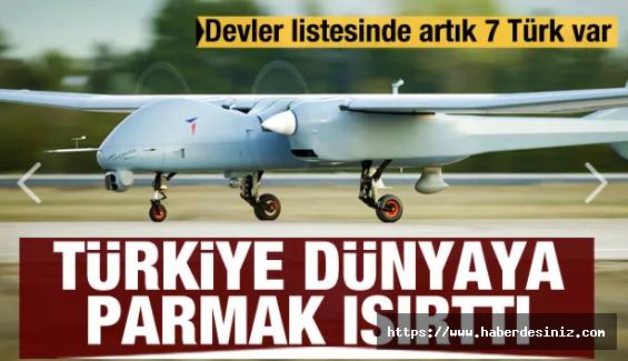 """Türkiye'den Dünyayı Kıskandıran Performans! """"Savunmanın Devleri"""" Listesinde 7 Türk"""