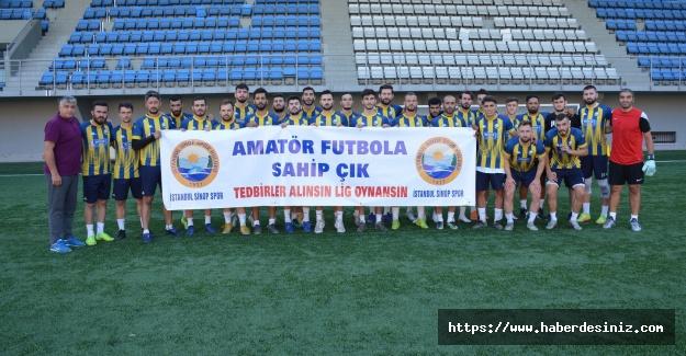 İstanbul Sinop spor'dan amatör futbolculara destek