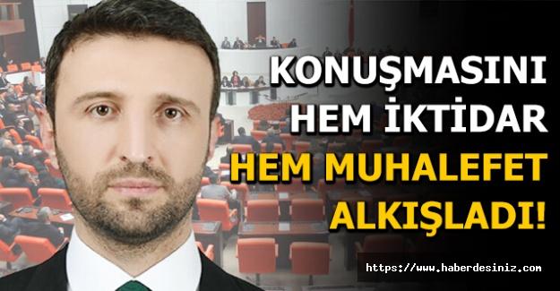AK Parti Ankara Milletvekili Orhan Yegin'in Ankara Garı patlaması konuşmasına muhalefetten de alkış!