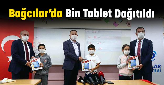 Bağcılar'da Bin Tablet Dağıtıldı
