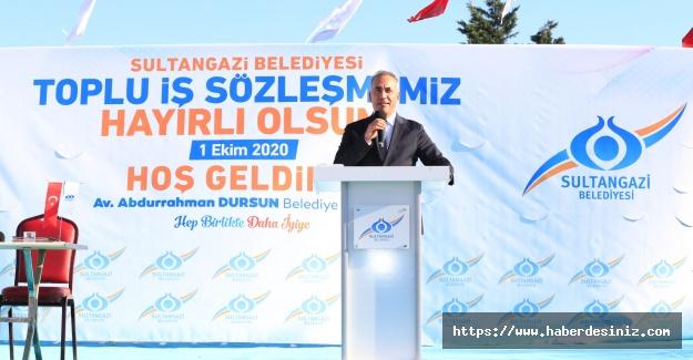 Sultangazi Belediye İşçilerine Toplu İş Sözleşmesi