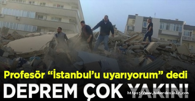 Prof. Dr. Samet Arslan'dan korkutan uyarı: İstanbul depremi bugün çok daha yakın!