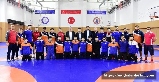 İstanbul BBSK Güreş Takımı Milli takım seçme şampiyonasına hazır