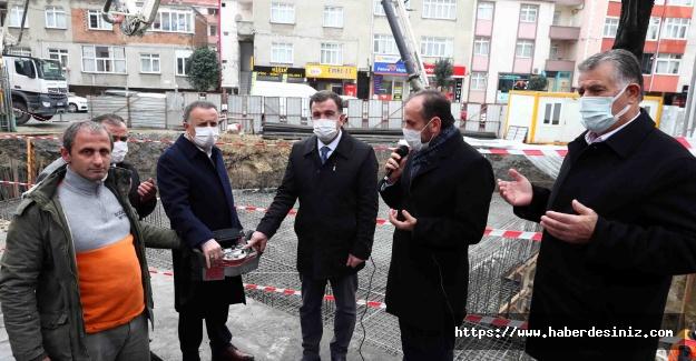 Kaymakam ve Belediye Başkanı Kuran Kursu temelini attı
