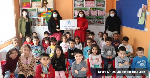 Anaokulu Çocuklarına Dünya Su Günü ve Orman Haftası Etkinliği