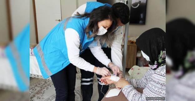 Şubat ayında Bin 182 Esenyurtlu evde sağlık hizmetinden yararlandı