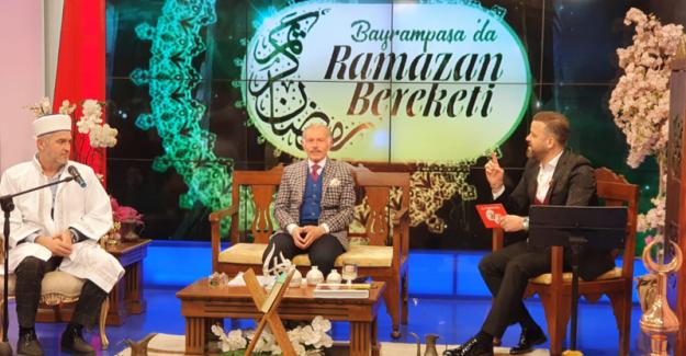 BAYRAMPAŞA'DA RAMAZAN BEREKETİ TEK RUMELİ TV EKRANLARINDA