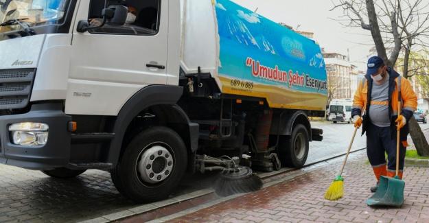 Esenyurt'ta temizlik seferberliği