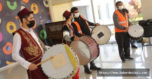 Küçükçekmece'de Ramazan davulcularına eğitim