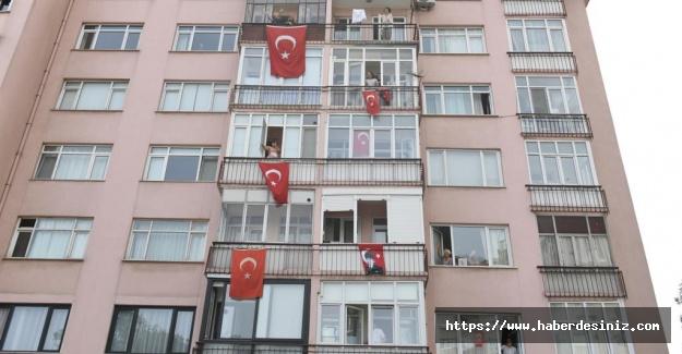 19 Mayıs coşkusu Beşiktaş'ta