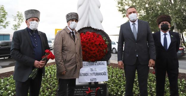 Çerkes Sürgününde hayatını kaybedenler anılıyor