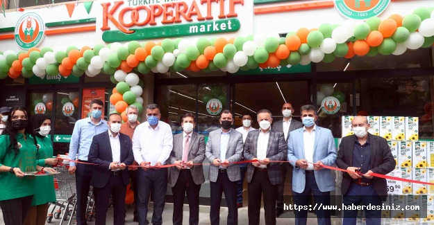 Bağcılar'da üçüncü Kooperatif marketi