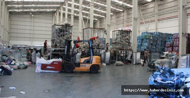 Güngören'de 60 ton atık ihraç edildi