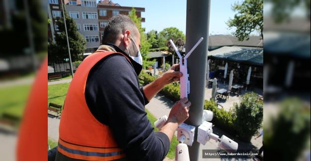 İstanbul'un bu ilçesinde internet ücretsiz