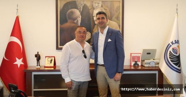 Moldova eski teknik direktöründen Yüksel'e ziyaret