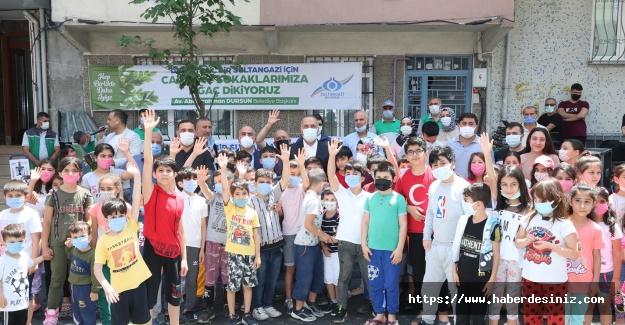 Sultangazi Belediyesi yeni bir ağaç dikim seferberliği