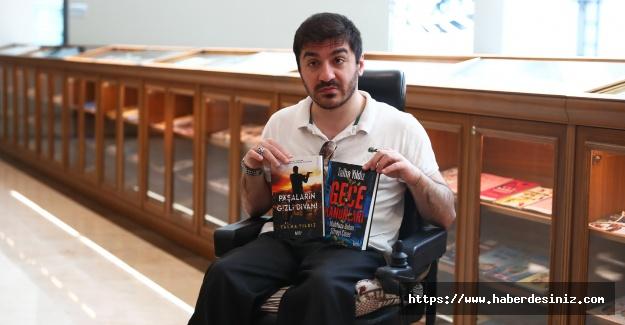 """Talha Yıldız'ın ikinci romanı """"Gece Kanunları"""""""