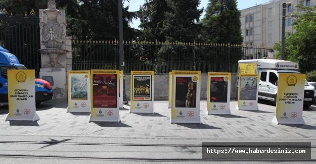 Tiyatro afişleri sergisi beyoplun'da başladı