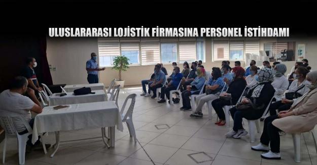 Uluslararası lojistik firmasına personel istihdamı