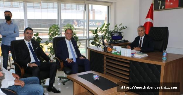 Yüksel'den Baba Ocağı Erzincan'a ziyaret