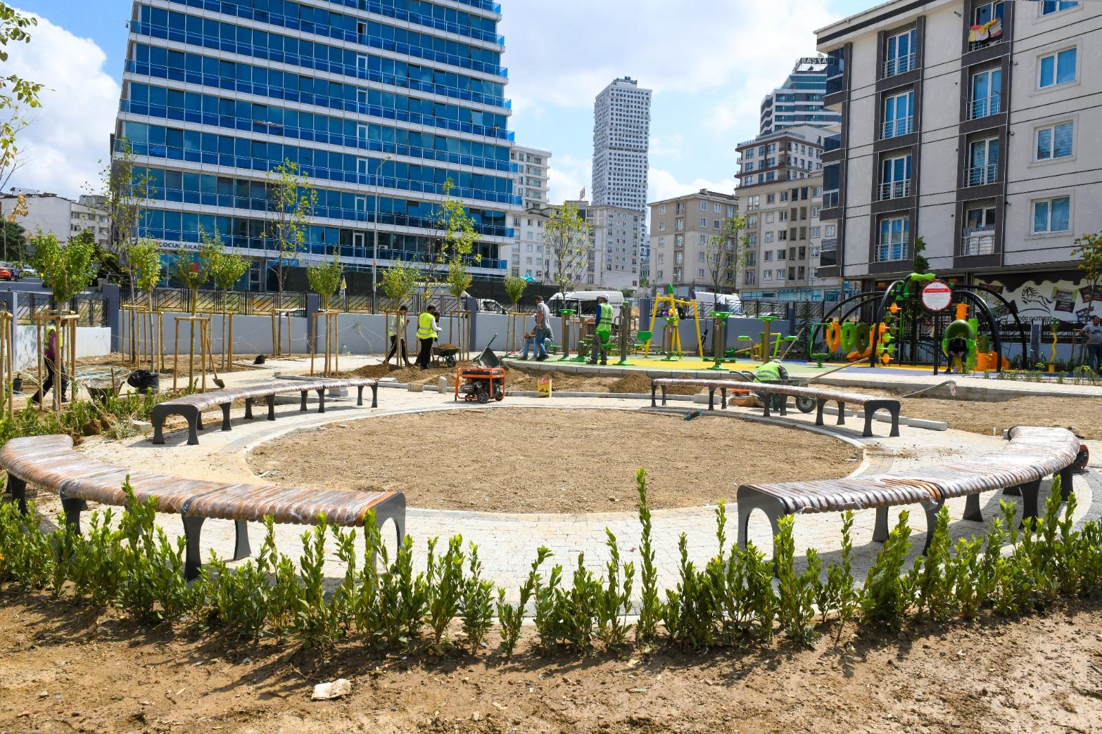 Akevler Mahallesi'ne yeni çocuk parkı