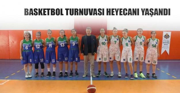 Basketbol turnuvası heyecanı yaşandı