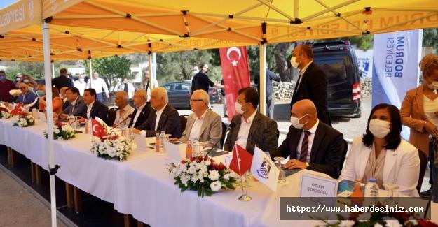 CHP lideri Büyükşehir Başkanları ile Muğla'da