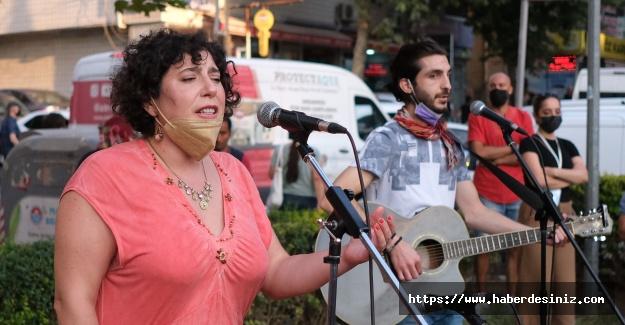 Sanatçılara Maltepe'de büyük destek