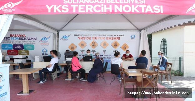Sultangazi'de gençlere ücretsiz tercih danışmanlığı