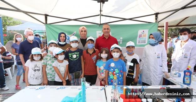 Sultangazili çocuklara bilim atölyeleri