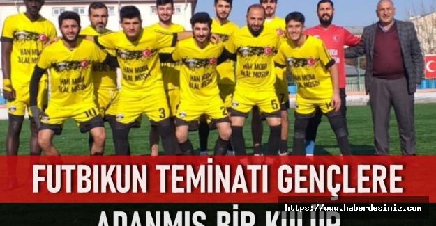 Futbolun teminatı gençlere adanan bir kulüp