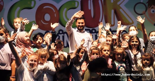 Kağıthaneli çocuklar etkinlikler ile eğleniyor