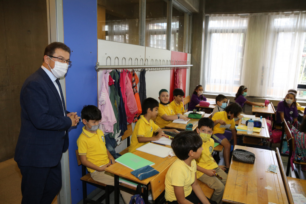Köken'den İslambey İlkokulu'na ziyaret