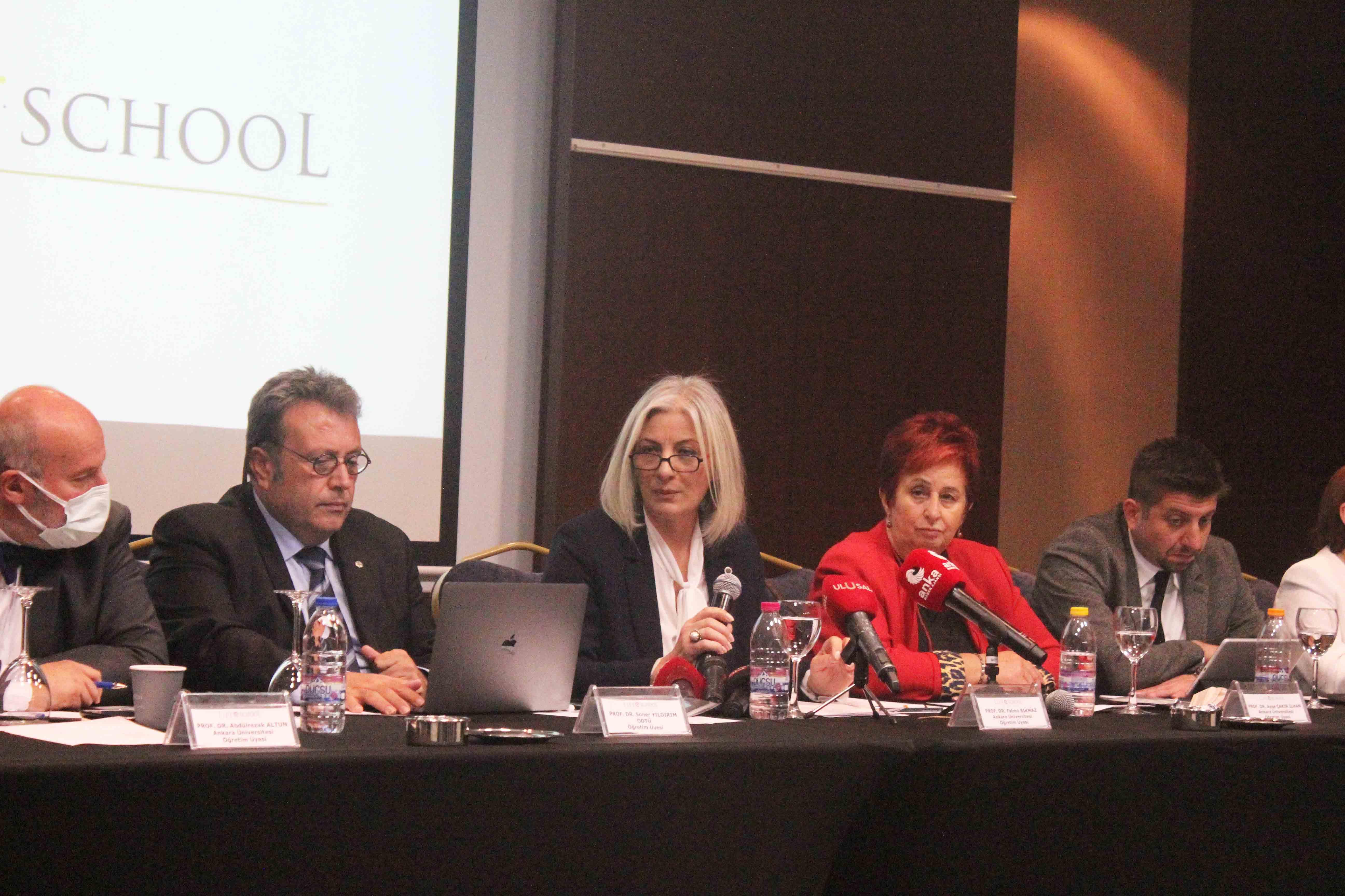 Dijital okul platformu Life School tanıtıldı