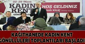 KAĞITHANEDE KADIN KENT GÖNÜLLÜLERİ TOPLANTILARI BAŞLADI!