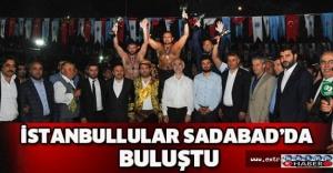 İstanbullular Sadabad'da buluştu