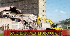 Nairobi'de 7 katlı bina çöktü