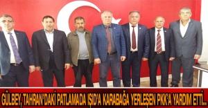 GÜLBEY, TAHRAN'DAKİ PATLAMADA IŞID'A KARABAĞA YERLEŞEN PKK'A YARDIM ETTİ…
